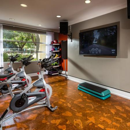 On-site Fitness Center | 1 Bedroom Apartment Santa Monica | AO Santa Monica 2