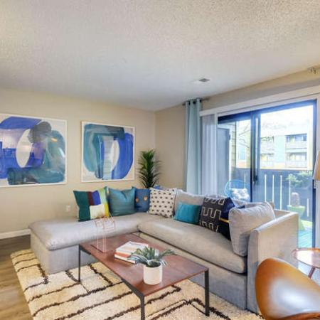 Elegant Living Room | Apartments for rent in Westminster, CO | Park Place at 92nd Apartments