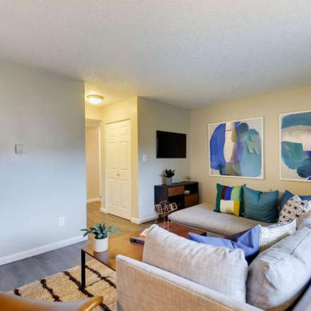 Spacious Living Room | Apartments in Westminster, CO | Park Place at 92nd Apartments