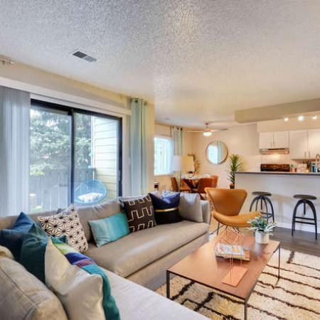 Spacious Living Area | Apartments Homes for rent in Westminster, CO | Park Place at 92nd Apartments