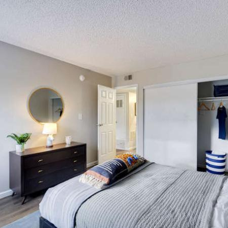 Luxurious Bedroom | Apartments in Westminster, CO | Park Place at 92nd Apartments