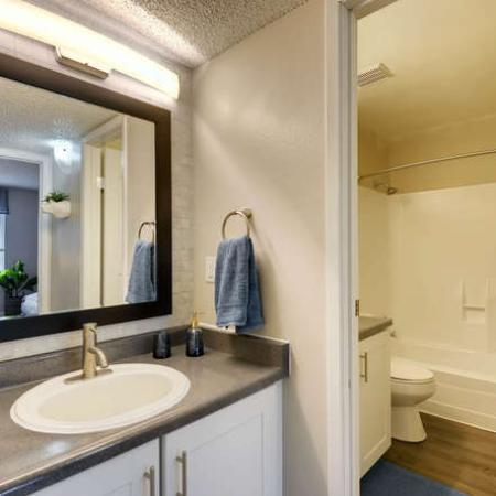 Luxurious Bathroom | Apartments for rent in Westminster, CO | Park Place at 92nd Apartments