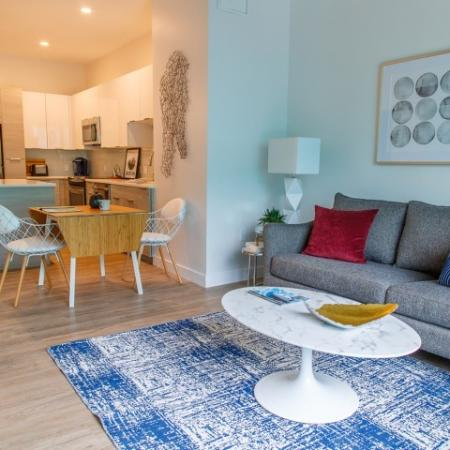 Elegant Living Room   Apartment For Rent Somerville MA   Montaje