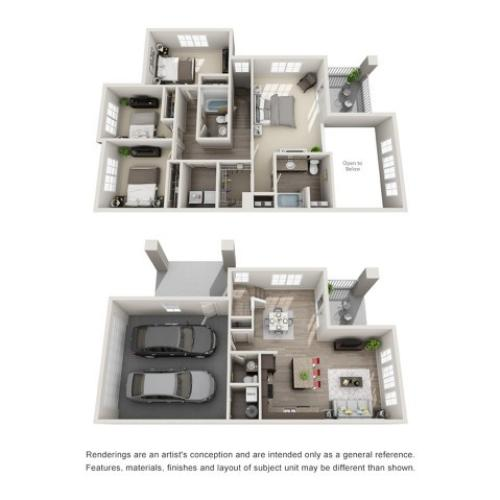 4 Bedroom Floorplan | Sandalwood