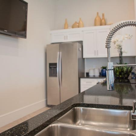 Spacious Community Club House Kitchen | Herriman UT Apartments For Rent | Copperwood Apartments