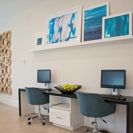 Resident Business Center | Herriman UT Apartment For Rent | Copperwood Apartments