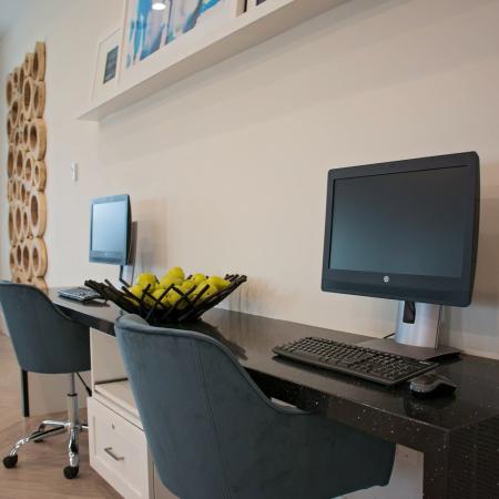 Community Business Center | Apartments in Herriman, UT | Copperwood Apartments