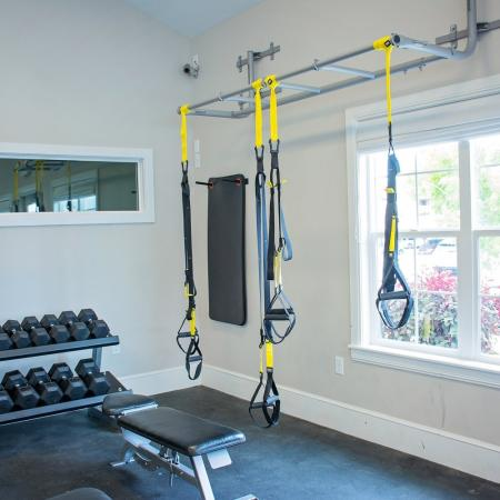 Cutting Edge Fitness Center | Apartments Homes for rent in Herriman, UT | Copperwood Apartments
