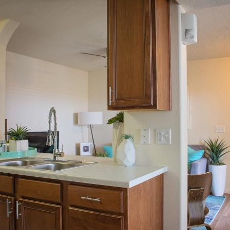 Modern Kitchen | Herriman  UT Apartment For Rent | Copperwood Apartments