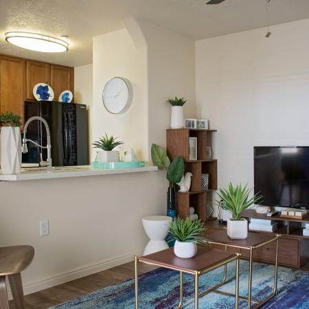 Spacious Living Area | Apartments Homes for rent in Herriman , UT | Copperwood Apartments