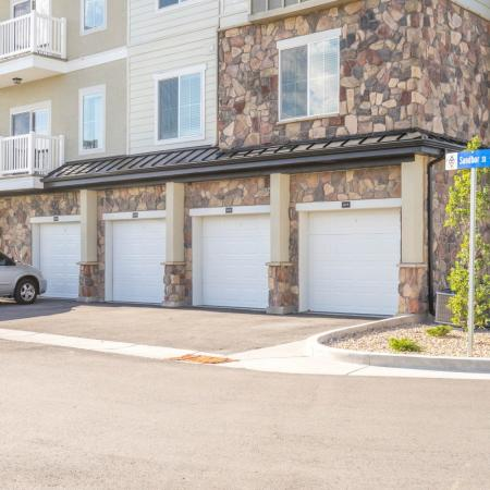 Garage Parking | West Valley City UT Apartment Homes | Sandalwood Apartments