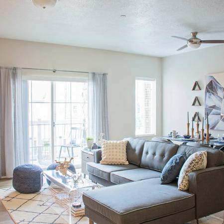 Spacious Living Room | Apartments in West Valley City, UT | Sandalwood Apartments