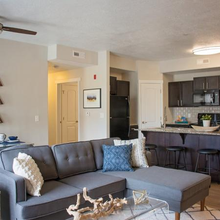 Spacious Living Area | Apartments Homes for rent in West Valley City, UT | Sandalwood Apartments