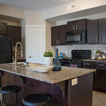Modern Kitchen | West Valley City UT Apartment For Rent | Sandalwood Apartments