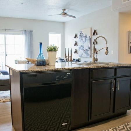 Elegant Kitchen | Apartments in West Valley City, UT | Sandalwood Apartments