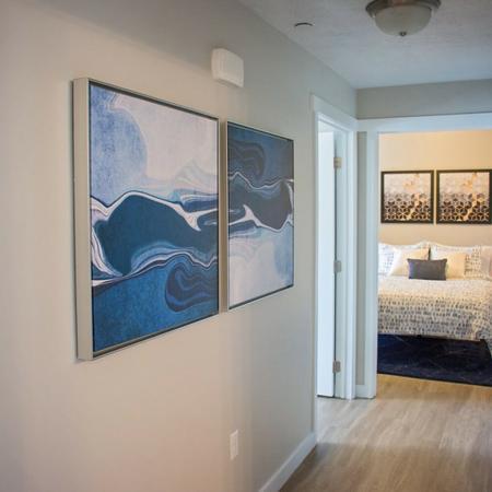 Spacious Hallway | Apartments in West Valley City, UT | Sandalwood Apartments