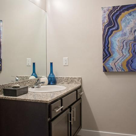 Spacious Bathroom | West Valley City UT Apartment For Rent | Sandalwood Apartments