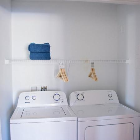 In-home Laundry  | Apartments Homes for rent in West Valley City, UT | Sandalwood Apartments