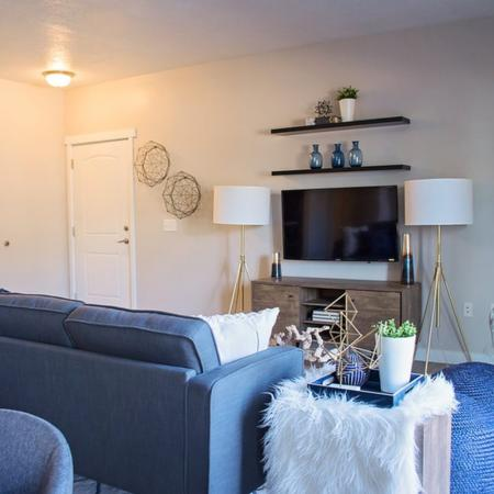 Elegant Living Room | Apartments for rent in West Valley City, UT | Sandalwood Apartments
