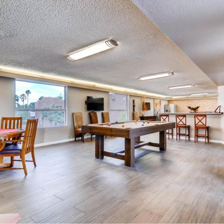 Resident Game Room | Apartments in Scottsdale, AZ | Visconti at Camelback Apartments
