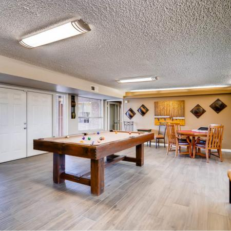 Resident Pool Table | Apartment in Scottsdale, AZ | Visconti at Camelback Apartments