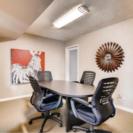 Resident Conference Room | Scottsdale AZ Apartment For Rent | Visconti at Camelback Apartments