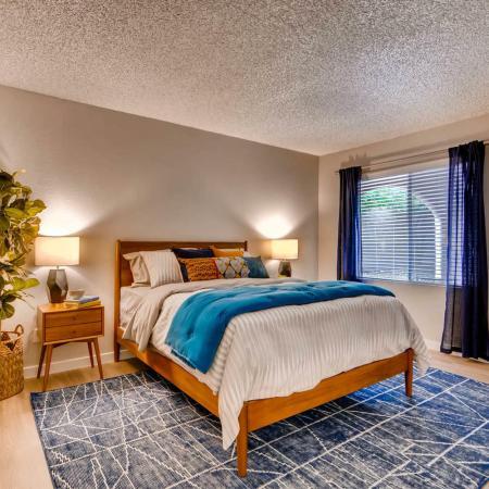 Elegant Bedroom | Scottsdale AZ Apartment For Rent | Visconti at Camelback Apartments