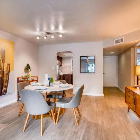 Spacious Dining Room | Apartment in Scottsdale, AZ | Visconti at Camelback Apartments
