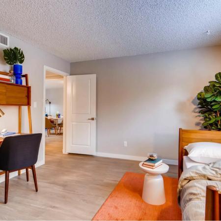 Spacious Bedroom | Scottsdale AZ Apartment Homes | Visconti at Camelback Apartments