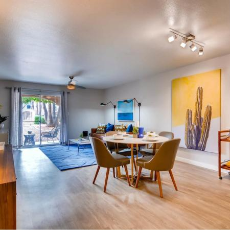 Elegant Dining Room | Scottsdale AZ Apartments For Rent | Visconti at Camelback Apartments