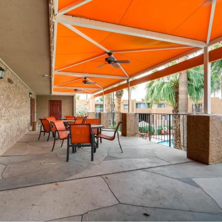 Resident Sun Deck | Scottsdale AZ Apartment For Rent | The Glen at Old Town Apartments