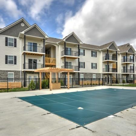Sparkling Pool | Columbus OH Apartments For Rent | The Attleigh
