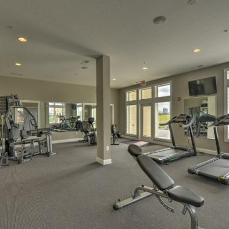 Resident Fitness Center | Apartments Columbus Ohio | The Attleigh