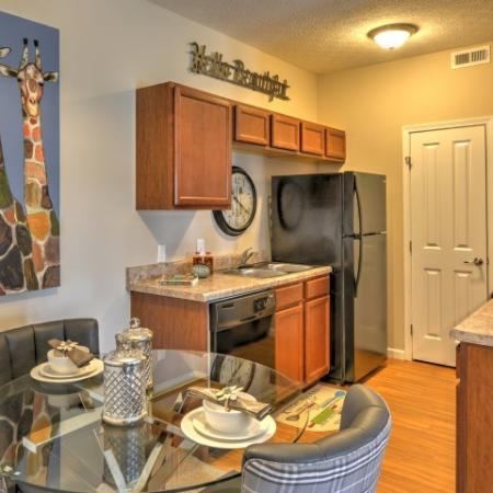 Modern Kitchen | Apartments Columbus Ohio | The Attleigh