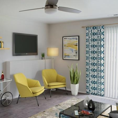 Elegant Living Room | Apartments for rent in West Valley City, UT | Mountain View Apartments