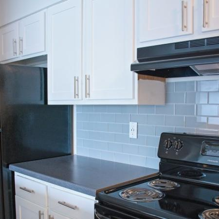 Modern Kitchen | West Valley City UT Apartment For Rent | Mountain View Apartments
