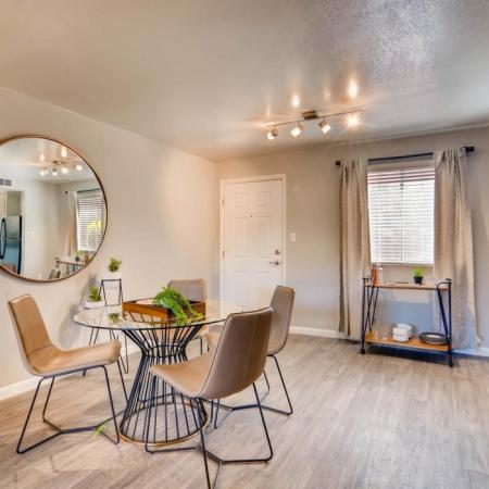 Spacious Dining Area | Apartment in Scottsdale, AZ | The Glen at Old Town Apartments