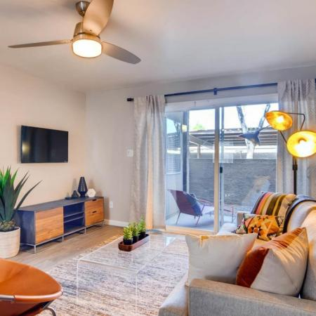 Elegant Living Room | Apartments for rent in Scottsdale, AZ | The Glen at Old Town Apartments