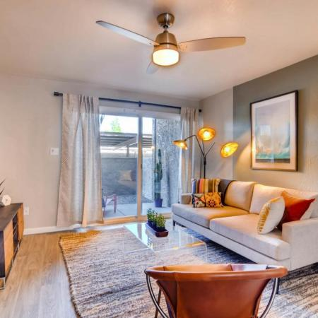 Spacious Living Area | Apartments Homes for rent in Scottsdale, AZ | The Glen at Old Town Apartments