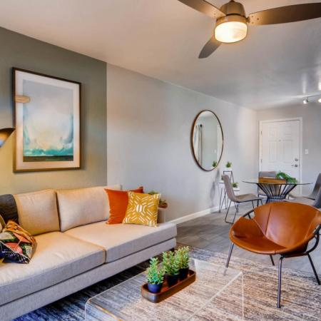 Spacious Living Room | Apartments in Scottsdale, AZ | The Glen at Old Town Apartments