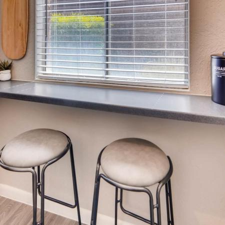 Kitchen Bar | Apartments in Scottsdale, AZ | The Glen at Old Town Apartments
