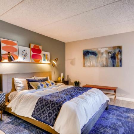 Spacious Bedroom | Scottsdale AZ Apartment Homes | The Glen at Old Town Apartments