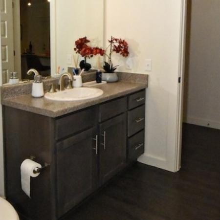 Luxurious Bathroom | 1 Bedroom Apartments In Lake Charles La | Watervue