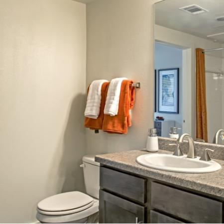 Elegant Master Bathroom | Apartments In Lake Charles | Watervue