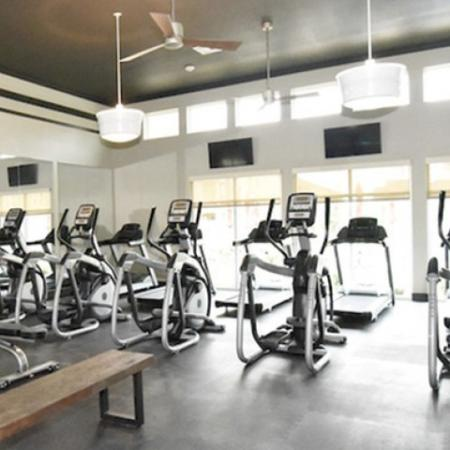 24-hour Fitness Center | Lake Charles Apartments | Watervue