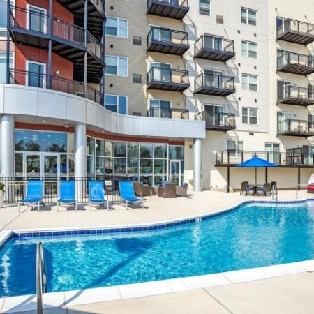 Resort Style Pool | Apartments in Lombard | Apex 41