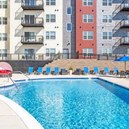 Sparkling Pool | Lombard Apartments | Apex 41