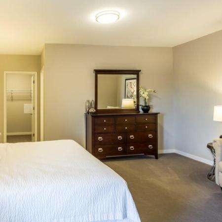 Elegant Master Bedroom | Apartment Homes In Lombard | Apex 41