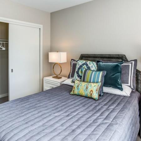 Elegant Bedroom | Apartment Homes In Lombard | Apex 41