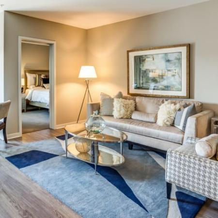 Spacious Living Area | Lombard Illinois Apartments | Apex 41